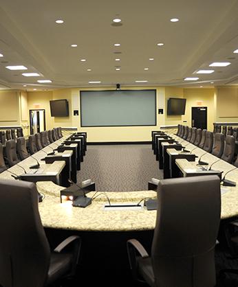 Sala de conferencia grande
