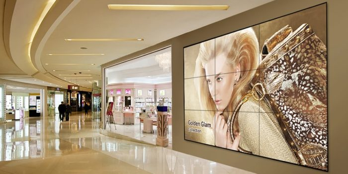 Videowall retail collection